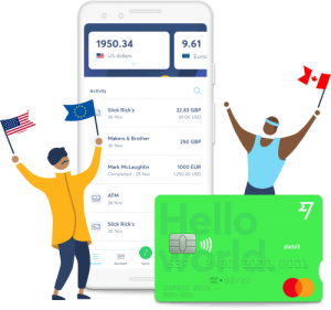 TransferWise App and Debit Card