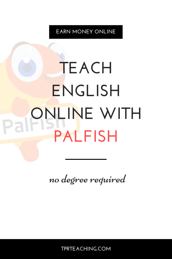 Teach English Online with Palfish no Degree Required