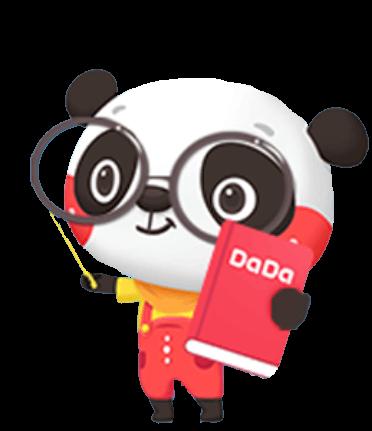 Dada Panda Character