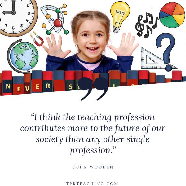 I Think the Teaching Profession Contributes More to the Future of Our Society Than Any Other Single Profession