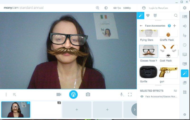Virtual Face Masks