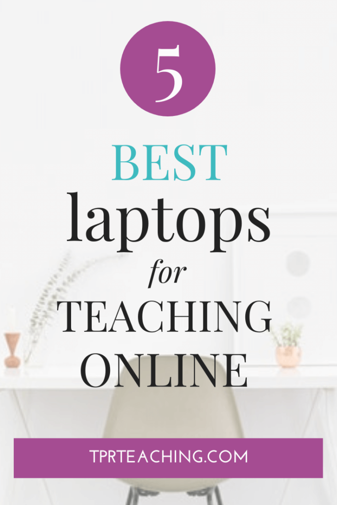 Online Teacher Laptops