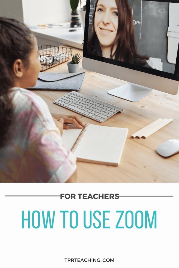 Zoom Tutorial for Teachers