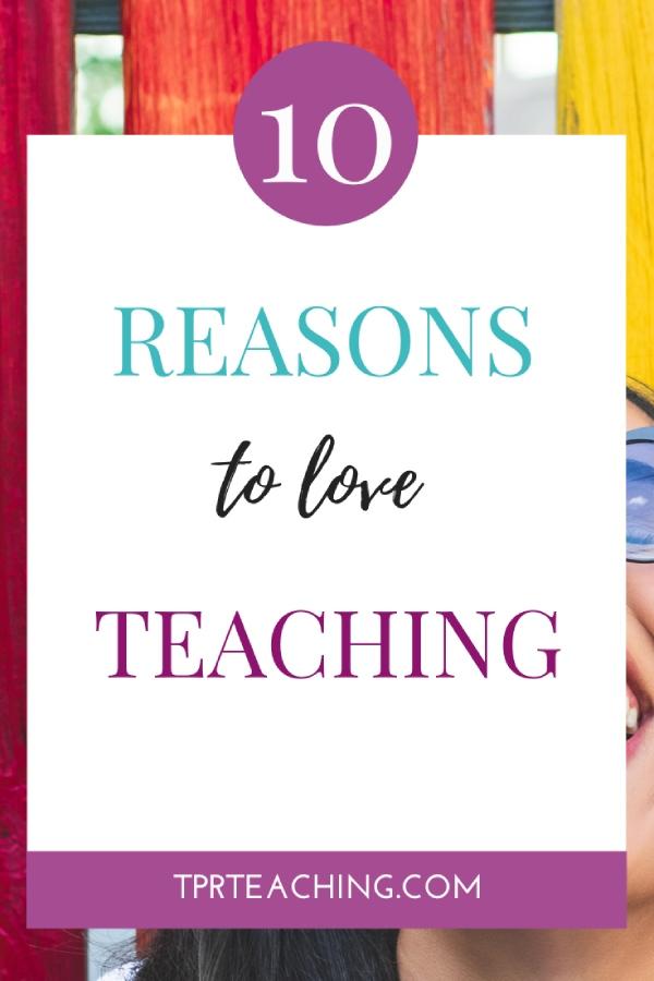 Love Being an ESL Teacher