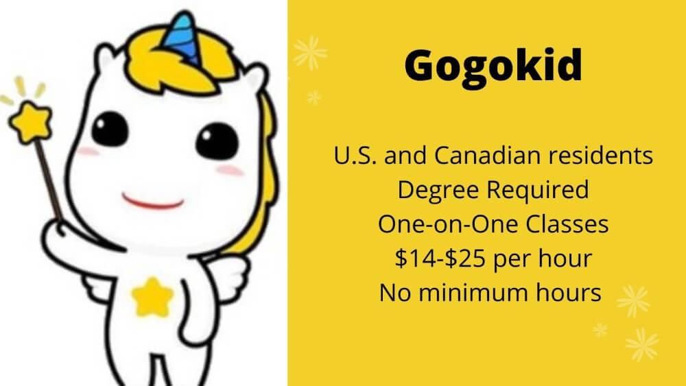 Gogokid Requirements