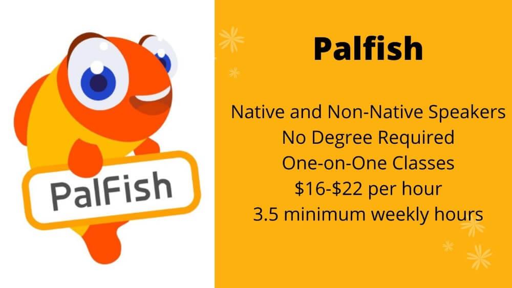 Palfish Job