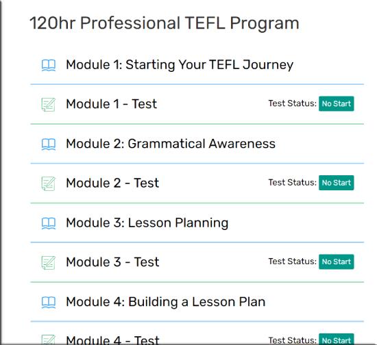 Teacher Record TEFL Program
