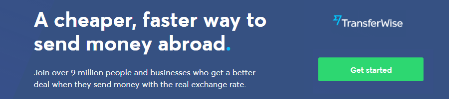 Transferwise Sign Up