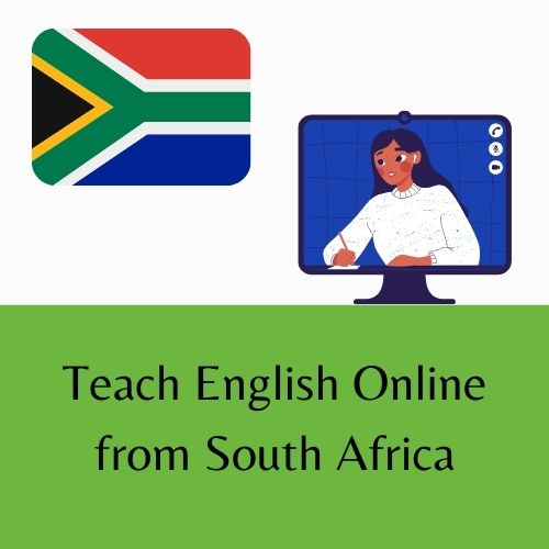 Teach English Online from South Africa