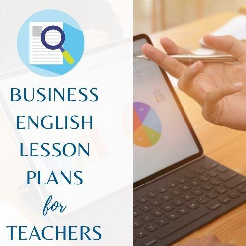 Business English Lesson Plans