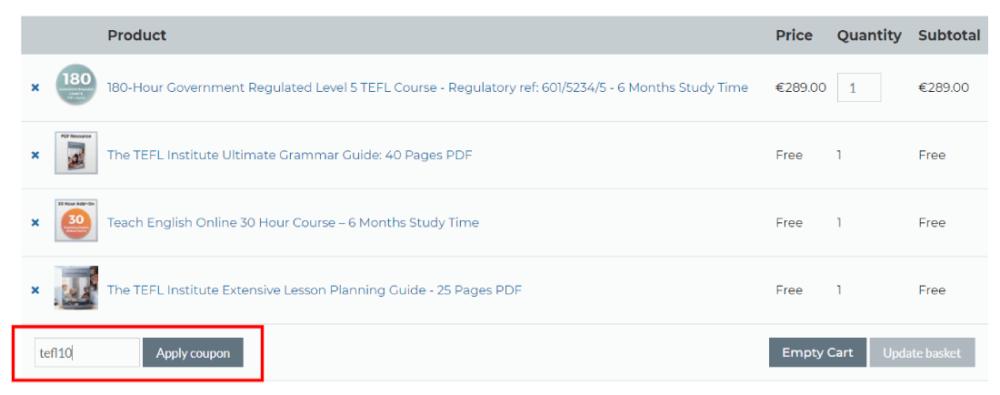 The TEFL Institute of Ireland Discount Code