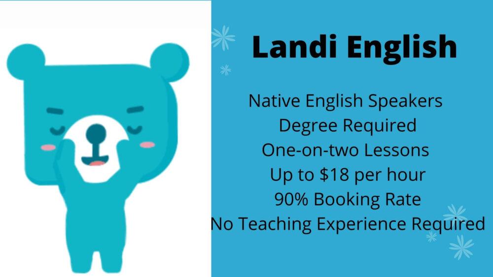 Landi English Job Details