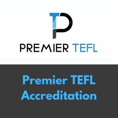 Premier TEFL Accreditation