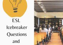 17 Best ESL Icebreaker Questions and Activities