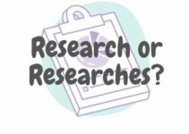 Research or Researches: Which is Correct? Simple English Explanations