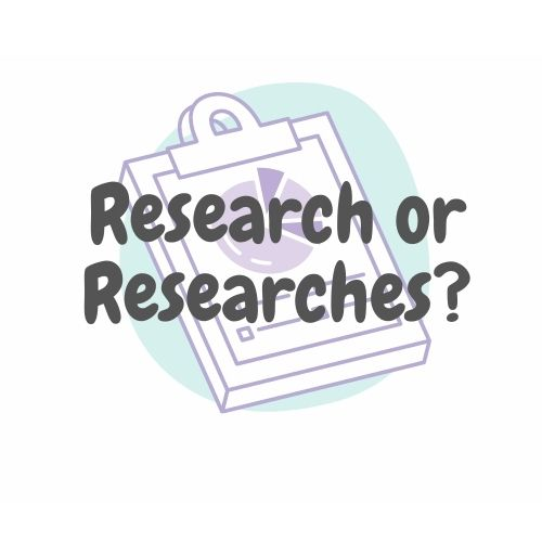 Research or Researches